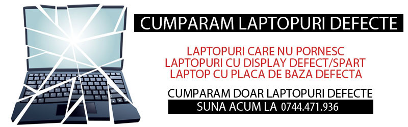 cumpar laptop defect