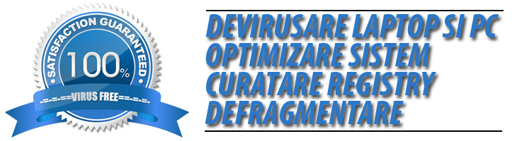 devirusare optimizare pc laptop