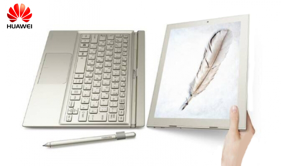 hybrid laptop huawei matebook