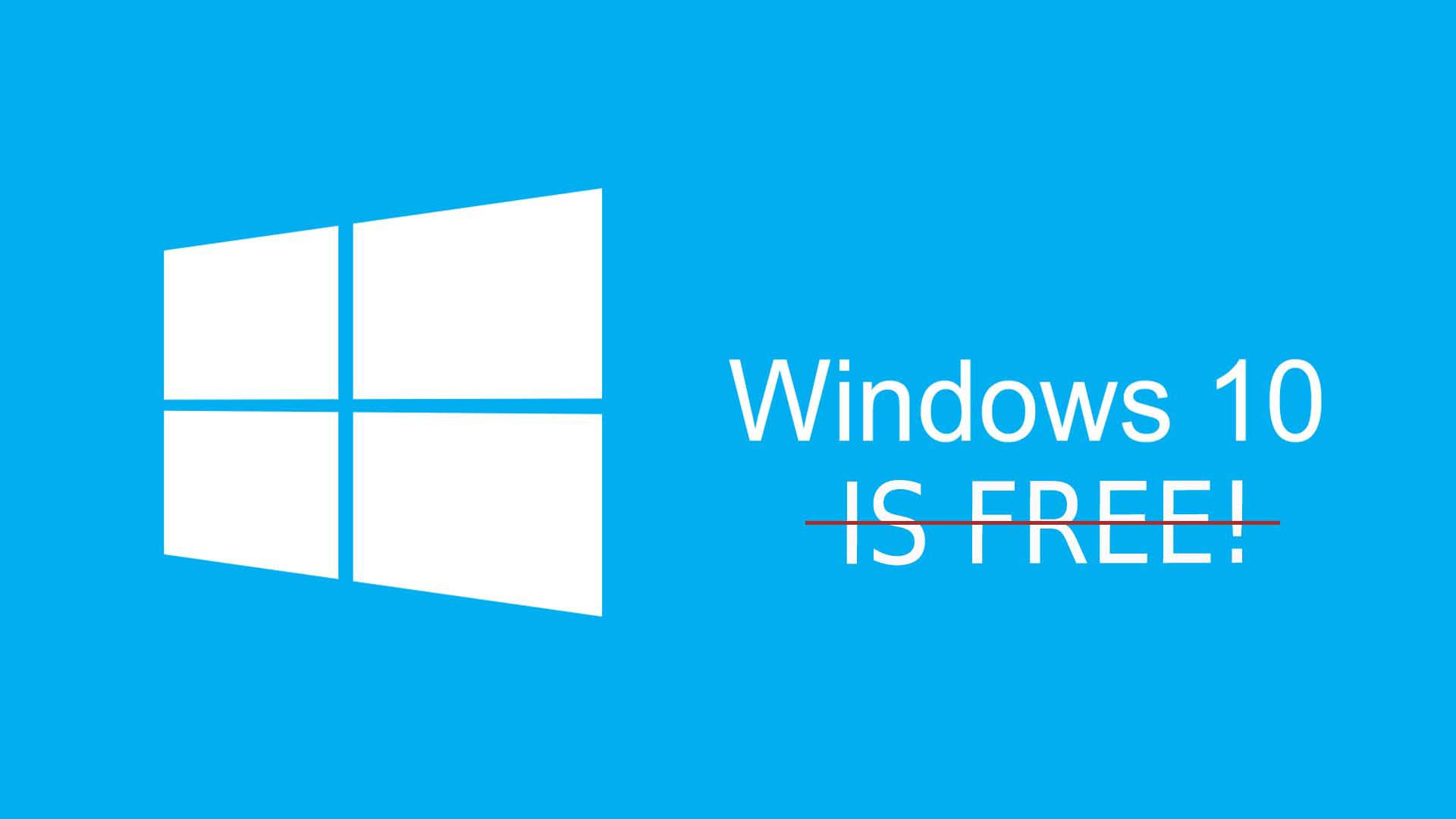 windows 10 not free