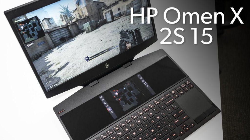 primul laptop de gaming din lume cu display dublu, lansat de HP